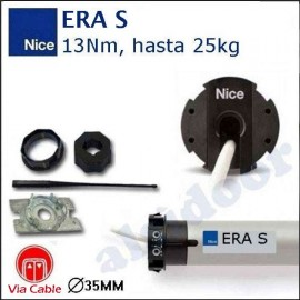 KIT motor persiana NICE ERA-s de 13Nm. via cable