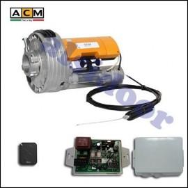 KIT de automatizacion de puertas enrollables ACM 170Nm, con un mandos
