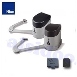 Kit 2 motores abatibles NICE HYKE puerta batiente hasta 7m