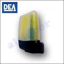 Luz Intermitente LED - DEA AURA de 24V con antena integrada