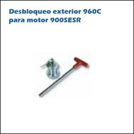 Desbloqueo exterior 960C para motor 900SESR DEA