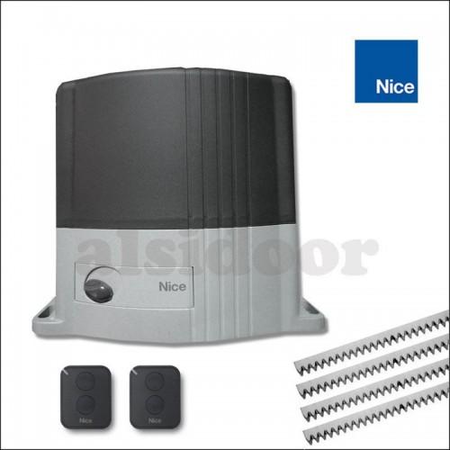 Medidas del motor THOR1500 Nice para puertas correderas