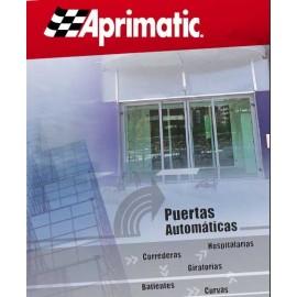 Puertas automaticas de cristal APRIMATIC, de trafico peatonal