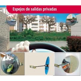 ESPEJOS DE SALIDA DE GARAJES PRIVADOS VIALUX IRROMPIBLES
