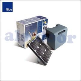 Nice SOLEMYO alimentación solar para puertas automáticas