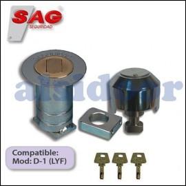 Cierre de seguridad SAG BB16 para puerta enrollable metalica