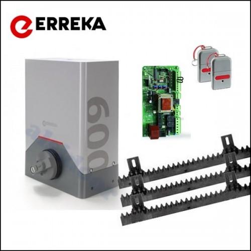 Kit motor corredera erreka rino ris600ec para puerta hasta - Kit para puerta corredera ...