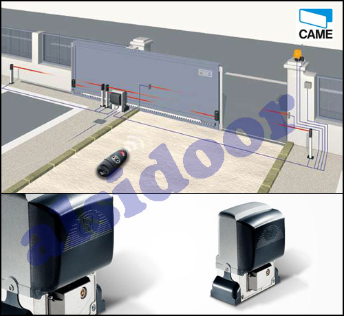 Comprar motor puerta corredera came bx 78 para puertas for Kit motor puerta corredera