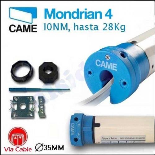 Motor para persianas domesticas MONDRIAN 4 CAME, hasta 28 Kg.