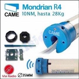 Motor para persianas MONDRIAN R4 CAME, hasta 28 Kg. Via Radio