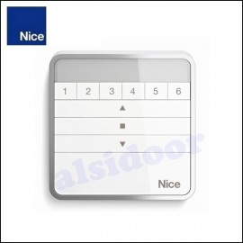 Transmisor radio de pared W1/W1S NICE para 1 automatismo o grupo