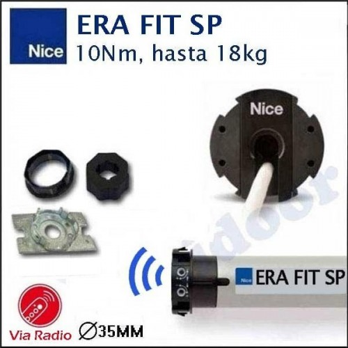 MOTOR PERSIANA NICE ERA FIT M desde 28kg hasta 95kg. Via Radio