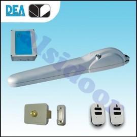 Kit motor puerta batiente DEA MAC 1 hoja hasta 3 m. uso residencial