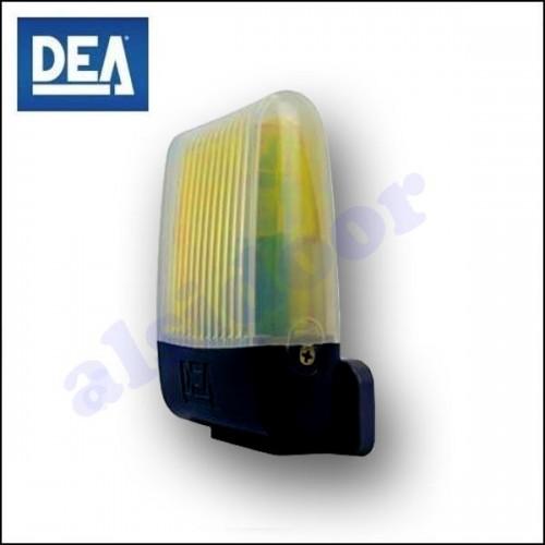 Luz Intermitente LED - DEA AURA de 24V con antena integrada