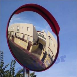 Espejo de trafico convexo de ø60cm diametro
