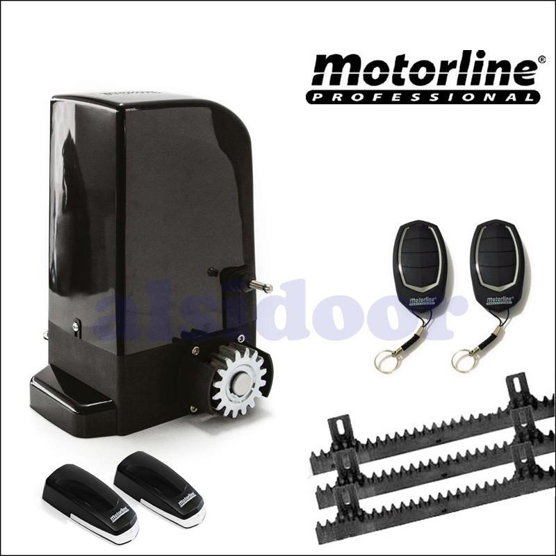 Kit corredera bravo motorline para puertas automaticas de - Motor puerta garaje precio ...