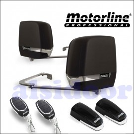 Kit 2 motores abatibles MOTORLINE ARTIC2 puerta batiente hasta 5m