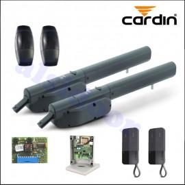 KIT CARDIN - TELCOMA ASY3I para puertas batientes hasta 5m de 2 hojas