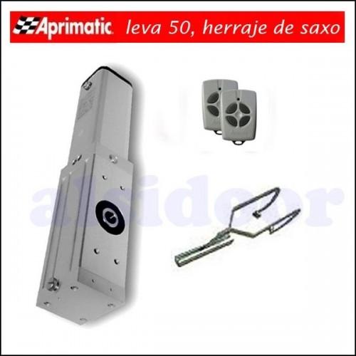 Kit Aprimatic Leva 50 para puerta basculante contrapesada de 10m2