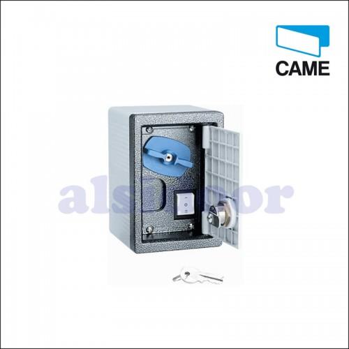 Desbloqueo exterior CAME para motor enrollable con cerradura y pulsador