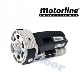 Motor para puertas enrollables Motorline elevación 160 Kg. Con electrofreno