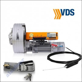 KIT enrollable VDS TONDO 170Nm con pulsador y desbloqueo