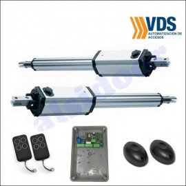 KIT VDS PM1 para puertas batientes hasta 5m de 2 hojas