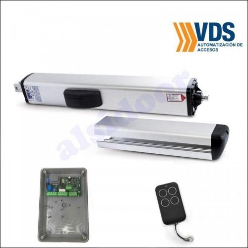 Kit motor hidráulico PH VDS para puertas batientes de hasta 3 m