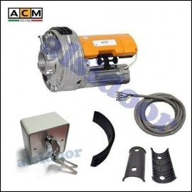 KIT motor enrollable ACM UNITITAN 170Nm (UNIROL) con cerradura electrica exterior