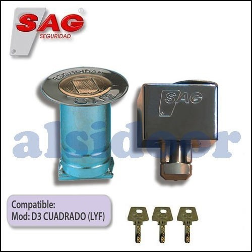 Dispositivo de seguridad SAG BB17 para puerta enrollable metalica