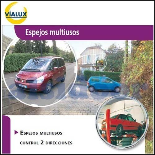 ESPEJO MULTIUSO VIALUX DE 400MM. IRROMPIBLE
