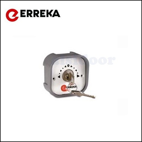 Cerradura de dos contactos electricos ERREKA