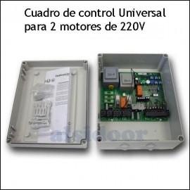 Cuadro universal 202E-3 ARF para dos motores batientes de 220V